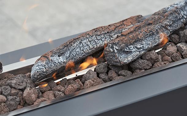 Aluminium vuurtafel | BuitenHof Tuinmeubelen